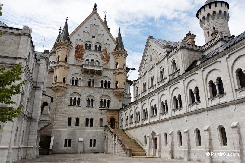 neuschwanstein château intérieur