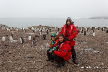 en Antarctique