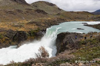Salto Grande - Parc National Torres del Paine - Chili