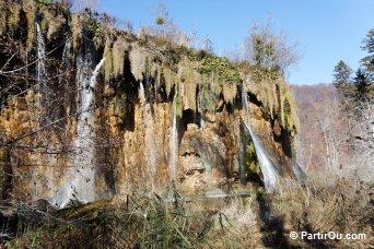 Casacade à Plitvice - Croatie