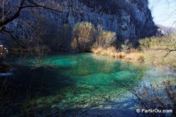 Un des lacs de Plitvice - Croatie