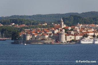 Vieille ville de Korčula - Croatie