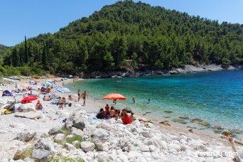 Plages sur Korčula - Croatie