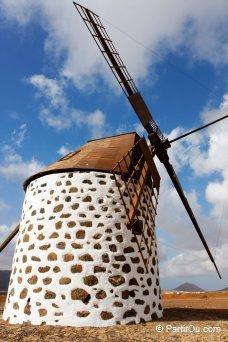 Moulin à vent de La Oliva - Fuerteventura