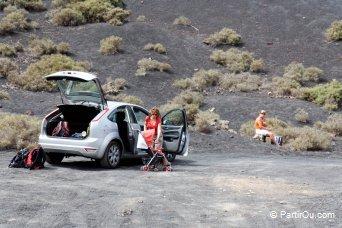 Se déplacer en voiture de location à Lanzarote