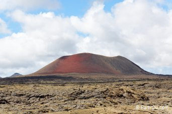 Volcan de la Montaña Colorada - Lanzarote