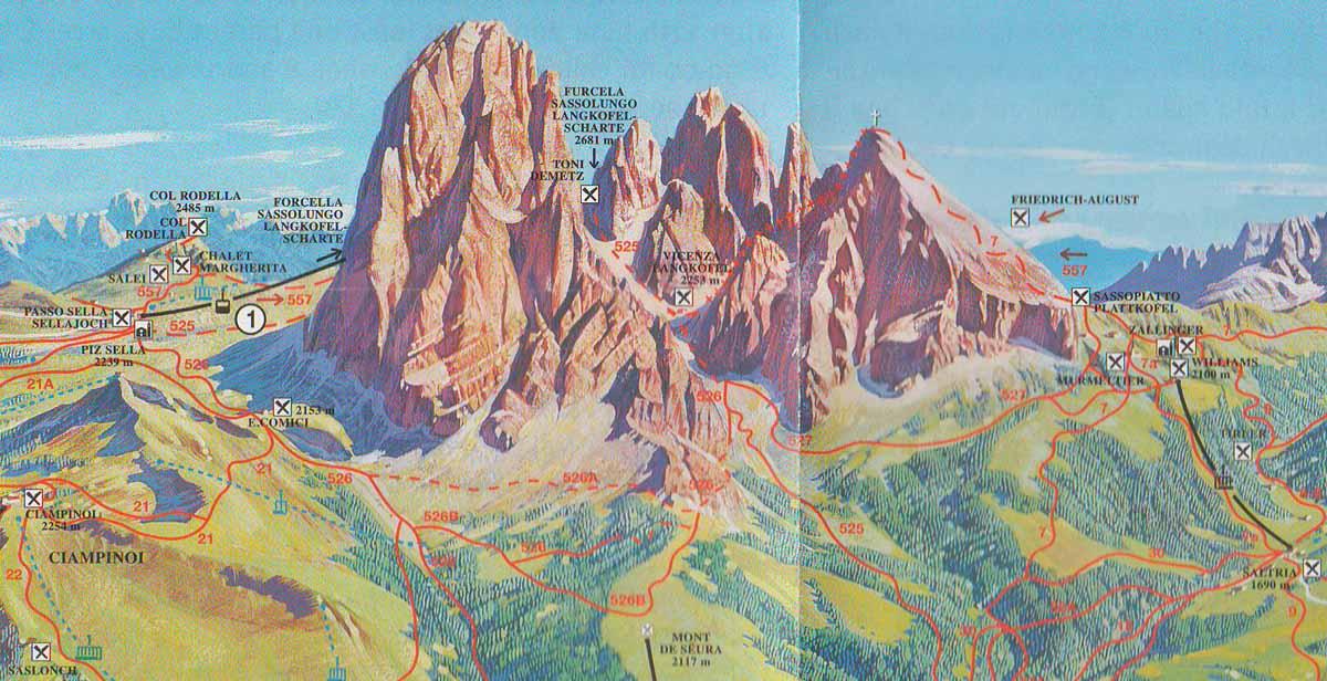 Les Dolomites (Italie)   PartirOu.com