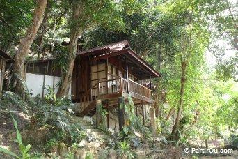 Hébergement à Kapas - Malaisie