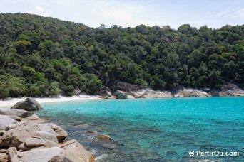 Turtle Beach - Perhentian Besar - Malaisie
