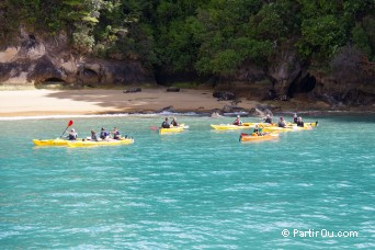 Kayak - Parc national Abel Tasman