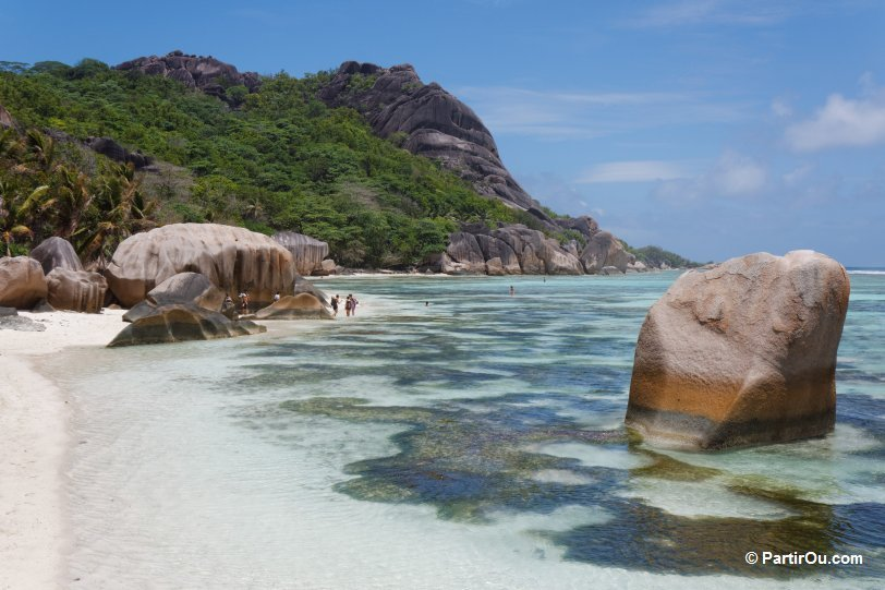 Anse source d argent photos