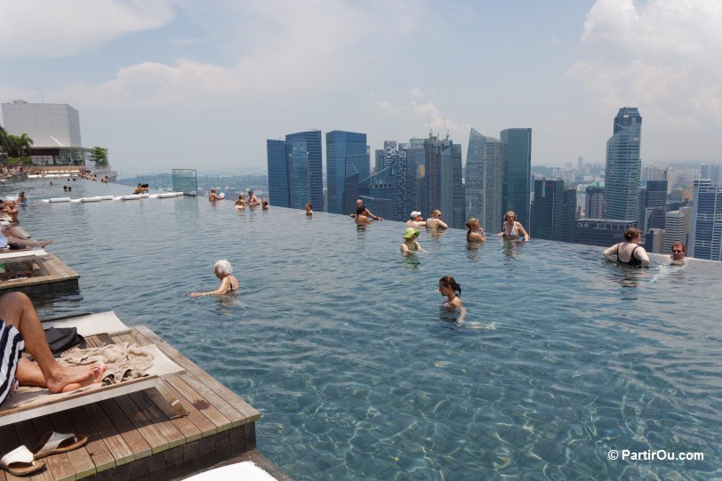 Singapour for Singapour marina bay sands piscine