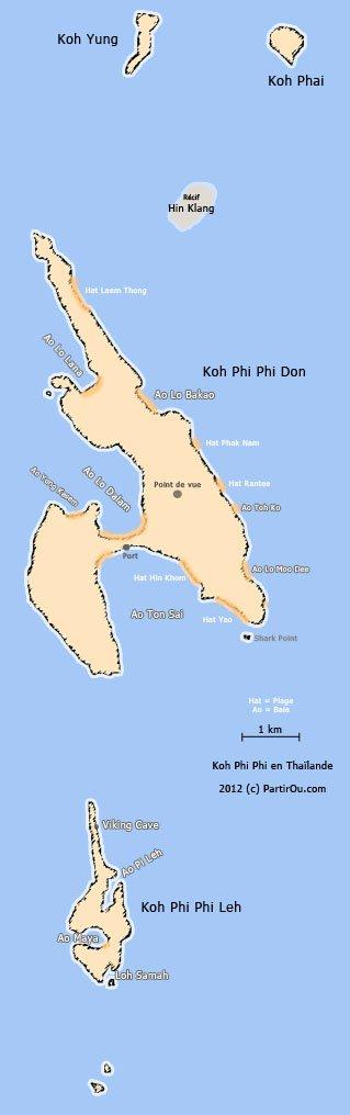 Carte Thailande Sud Ouest.Le Sud Ouest De La Thailande Partirou Com